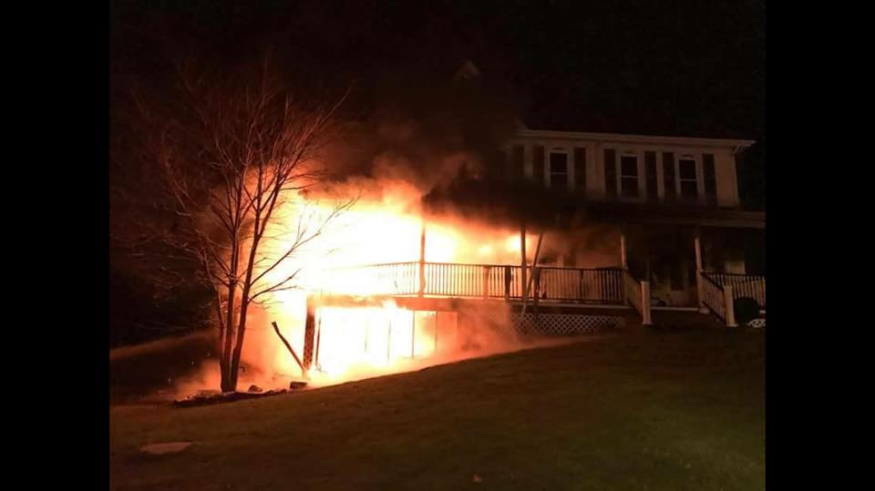 Mutual Aid Dwelling Fire