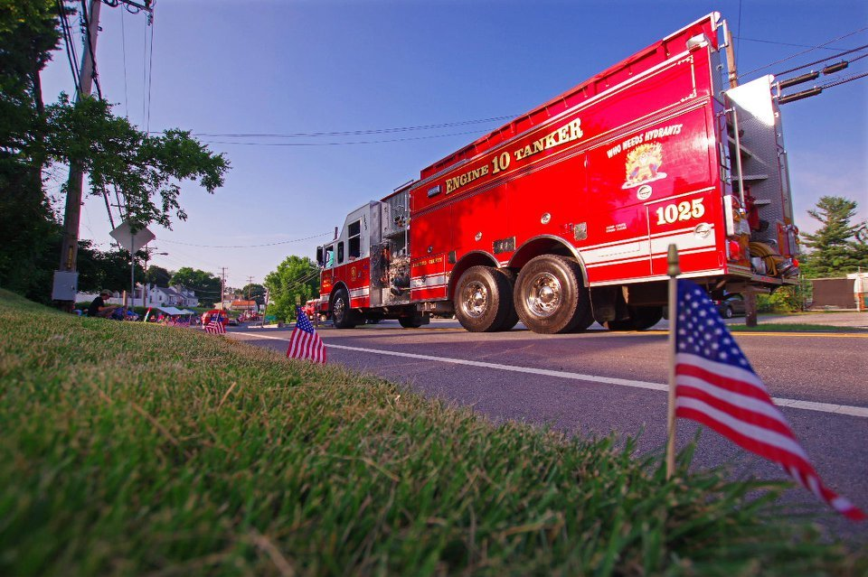 Crews Participate in Hereford Parade and Norrisville Fireworks