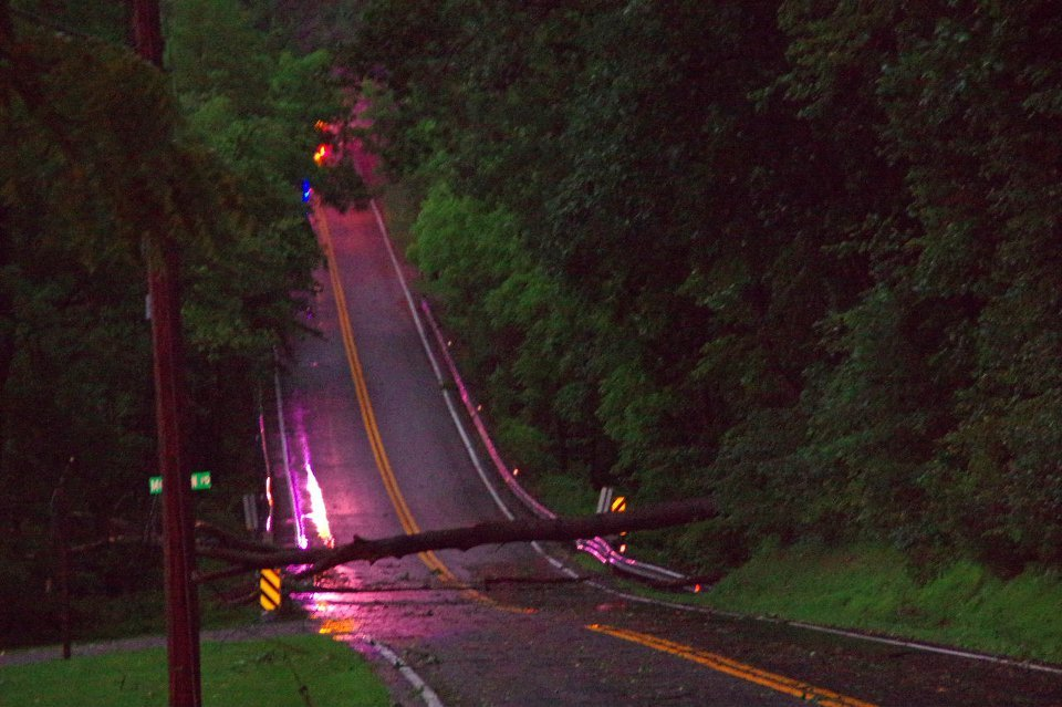 Storm Leads to Multiple Calls for Service